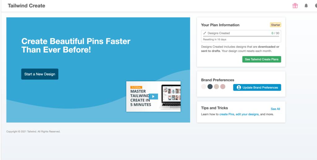 ferramenta para Pinterest Managers