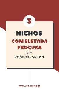 3 nichos com elevada procura para Assistentes Virtuais